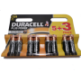 Duracell Plus Power AA Batteries 5 + 3 Free